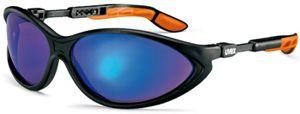U9188.881 UVEX CYBRIC kék, tükrös szemüveg