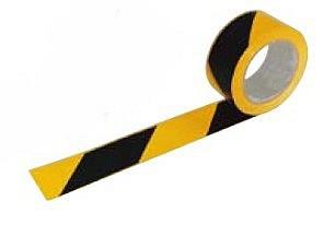 70012 jelzőszalag sárga-fekete 7 cm/ 200 m