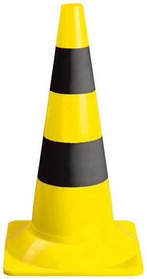 70301 Jelzőbója sárga-fekete 54 cm