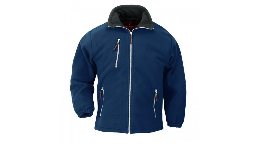 XVANB ANGARA CIPZÁROS kék pulóver