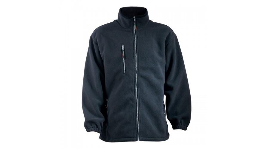 XVANN ANGARA CIPZÁROS fekete pulóver