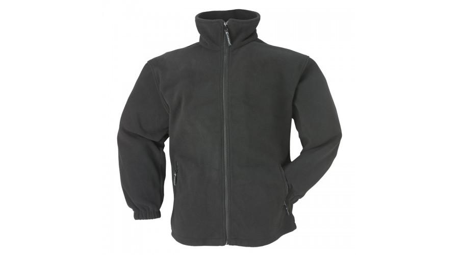 XVPON CIPZÁROS POLÁR pulóver fekete