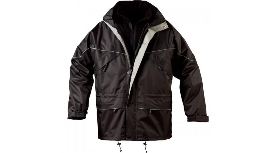 5ISAB ISA II 3 az 1 ben kabát fekete