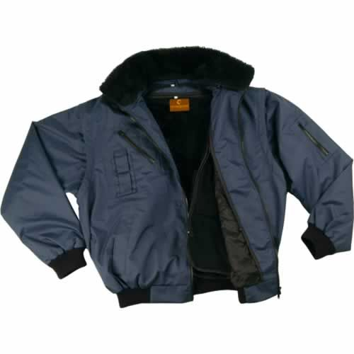 XZEFB ZEFLY kék dzseki