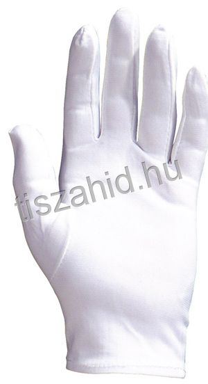 4209 100% hófehér, tartós, vékony nylon kesztyű