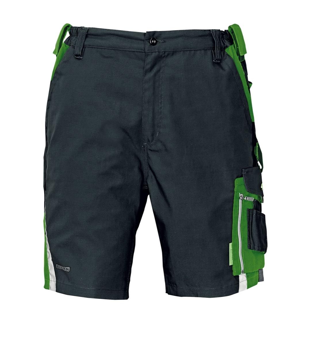 ALLYN rövidnadrág zöld-fekete
