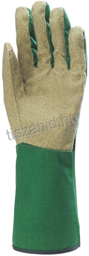 132480 zöld hátú vinillel impregnált vászon tenyér