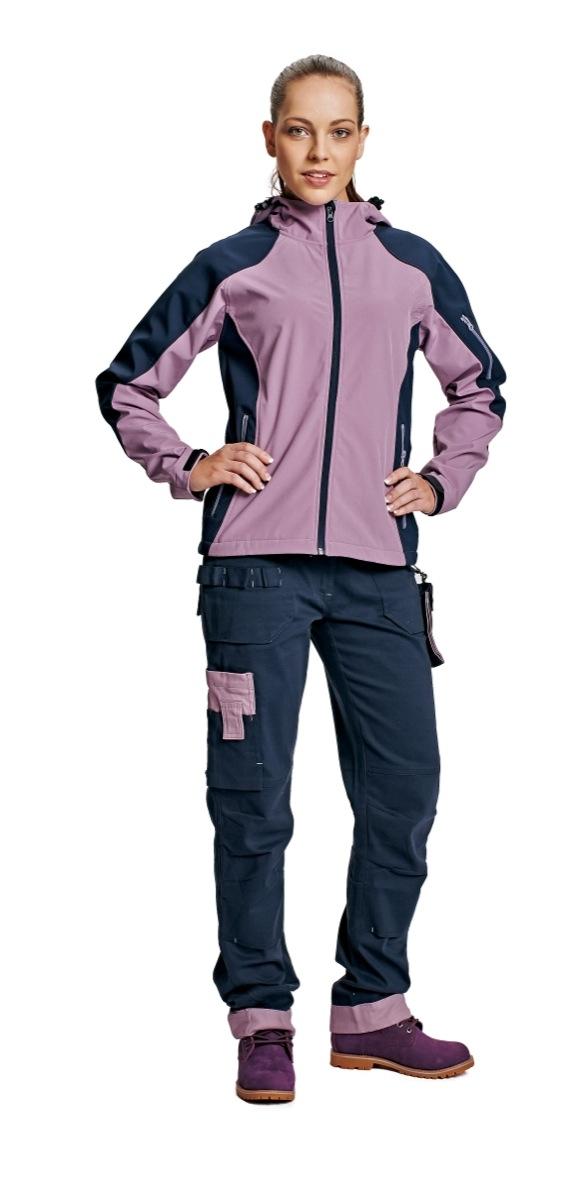 YOWIE nadrág női navy/lila