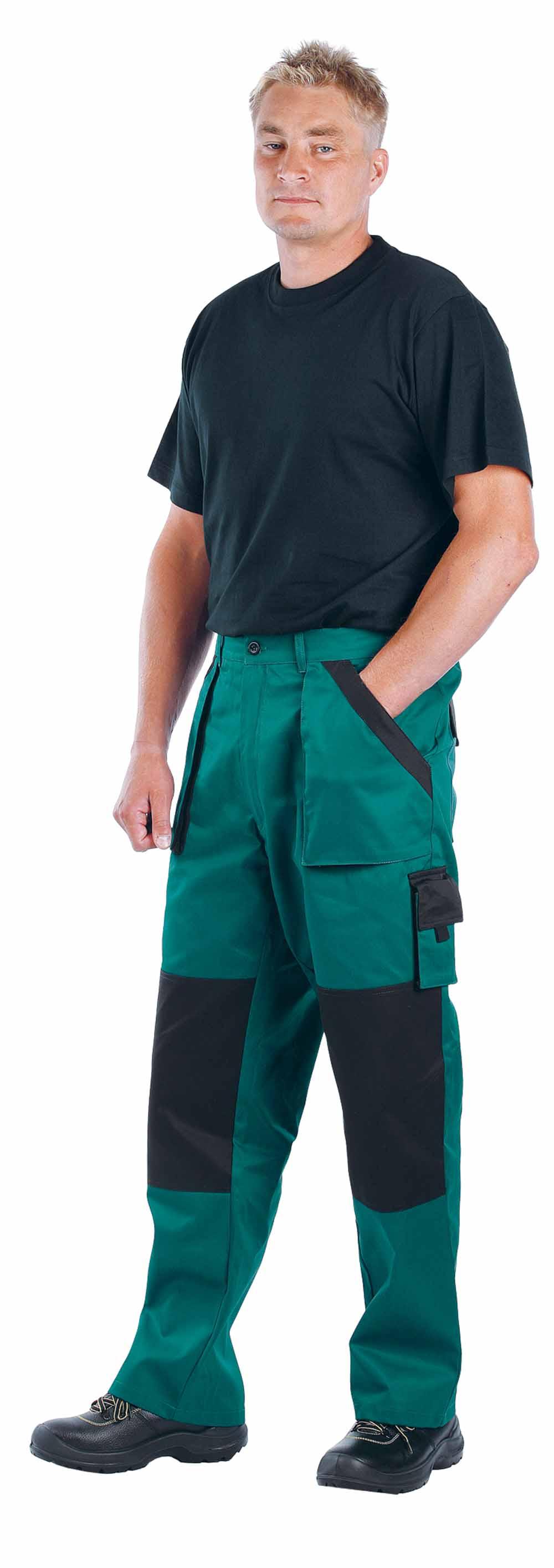 MAX nadrág zöld-fekete