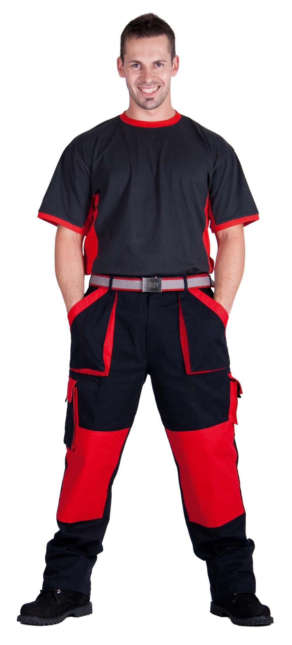Kifutó! MAX nadrág fekete-piros