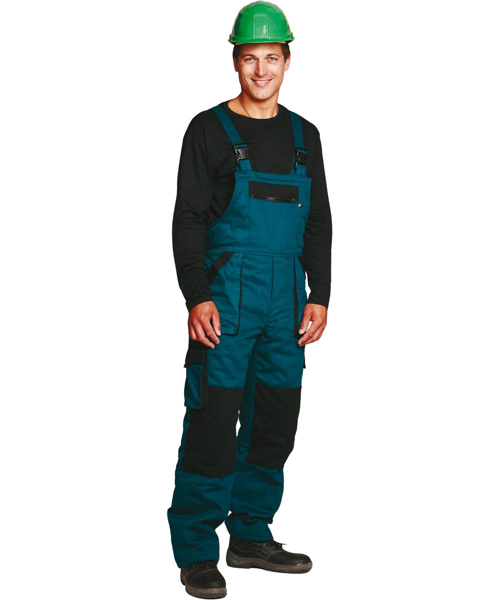 MAX WINTER kantáros nadrág zöld-fekete