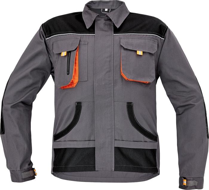 FF CARL BE-01-002 kabát szürke