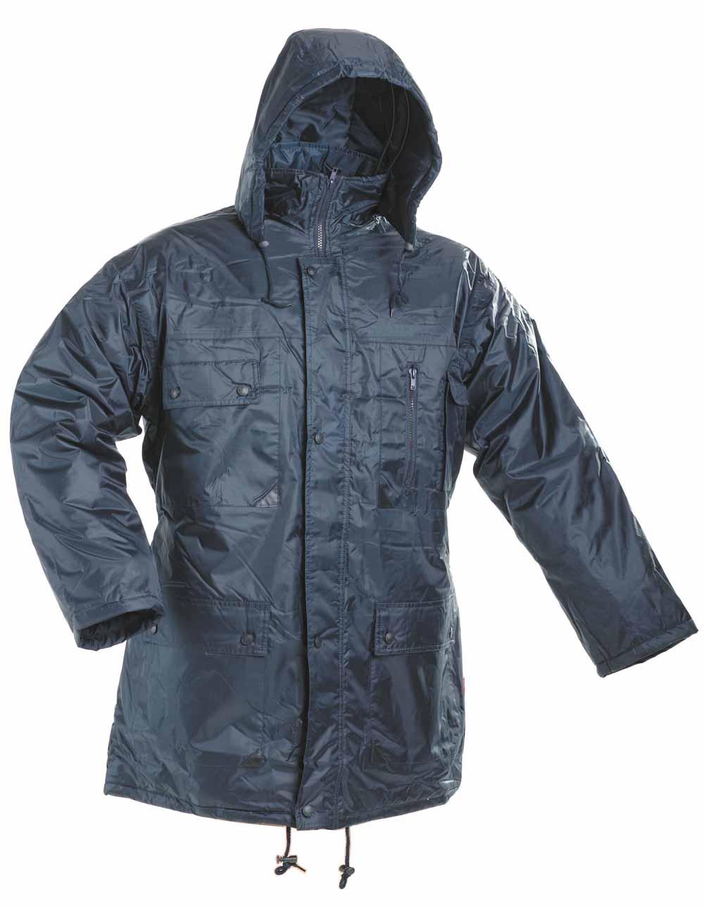 ATLAS kék bélelt kabát