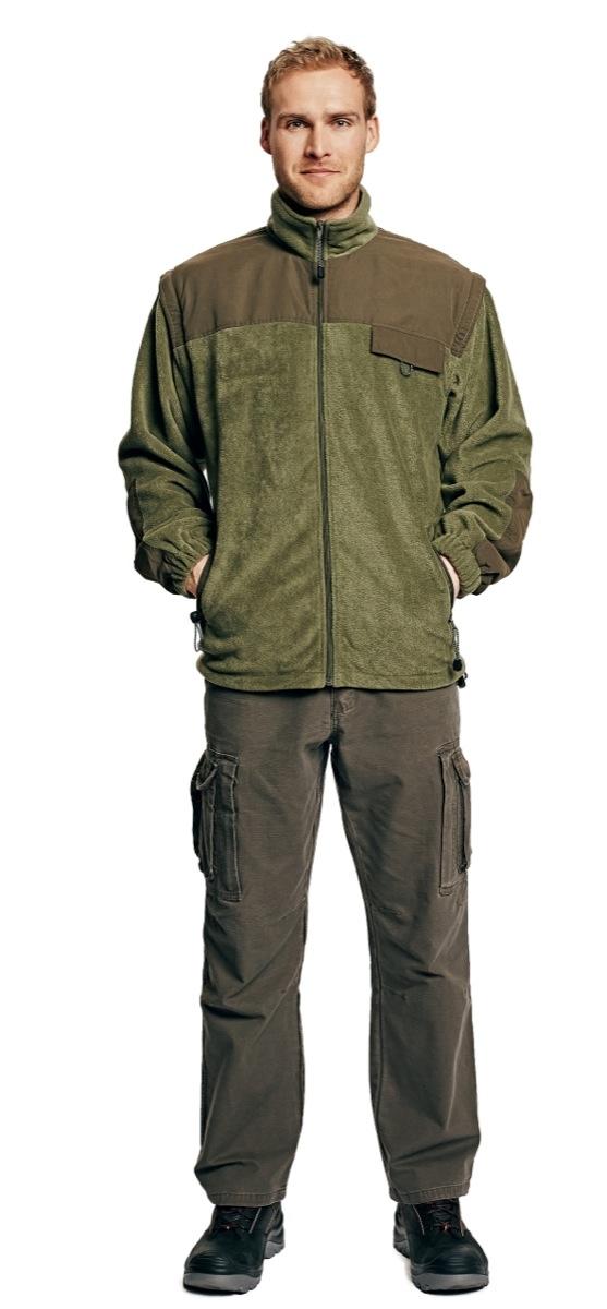 RANDWIK polár kabát zöld