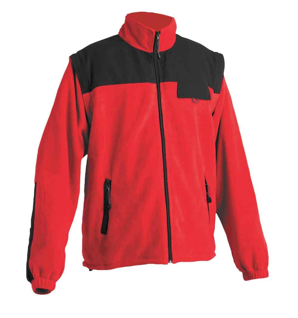 RANDWIK polár kabát piros