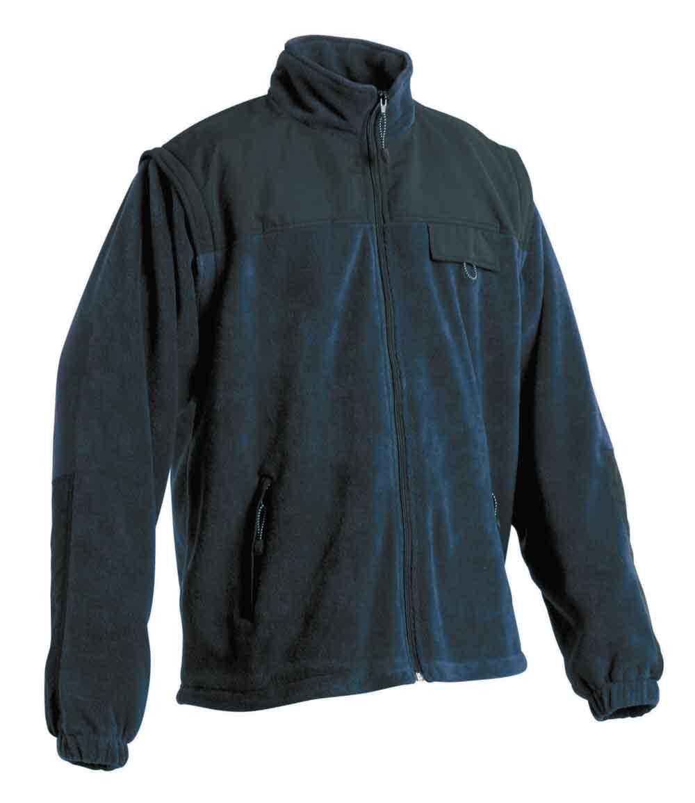 RANDWIK polár kabát sötétkék