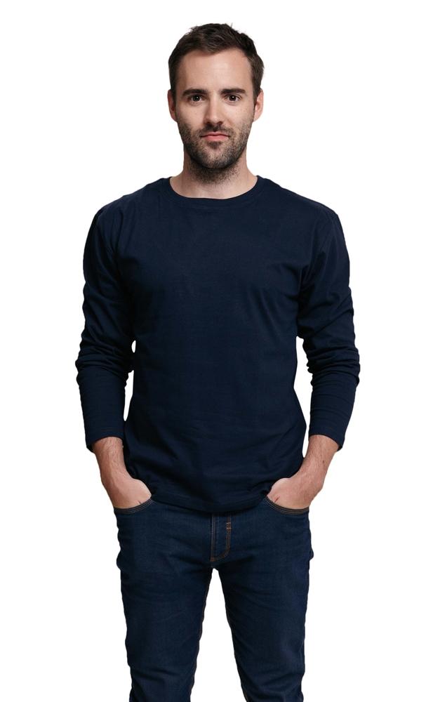CAMBON hosszú ujjú póló sötétkék
