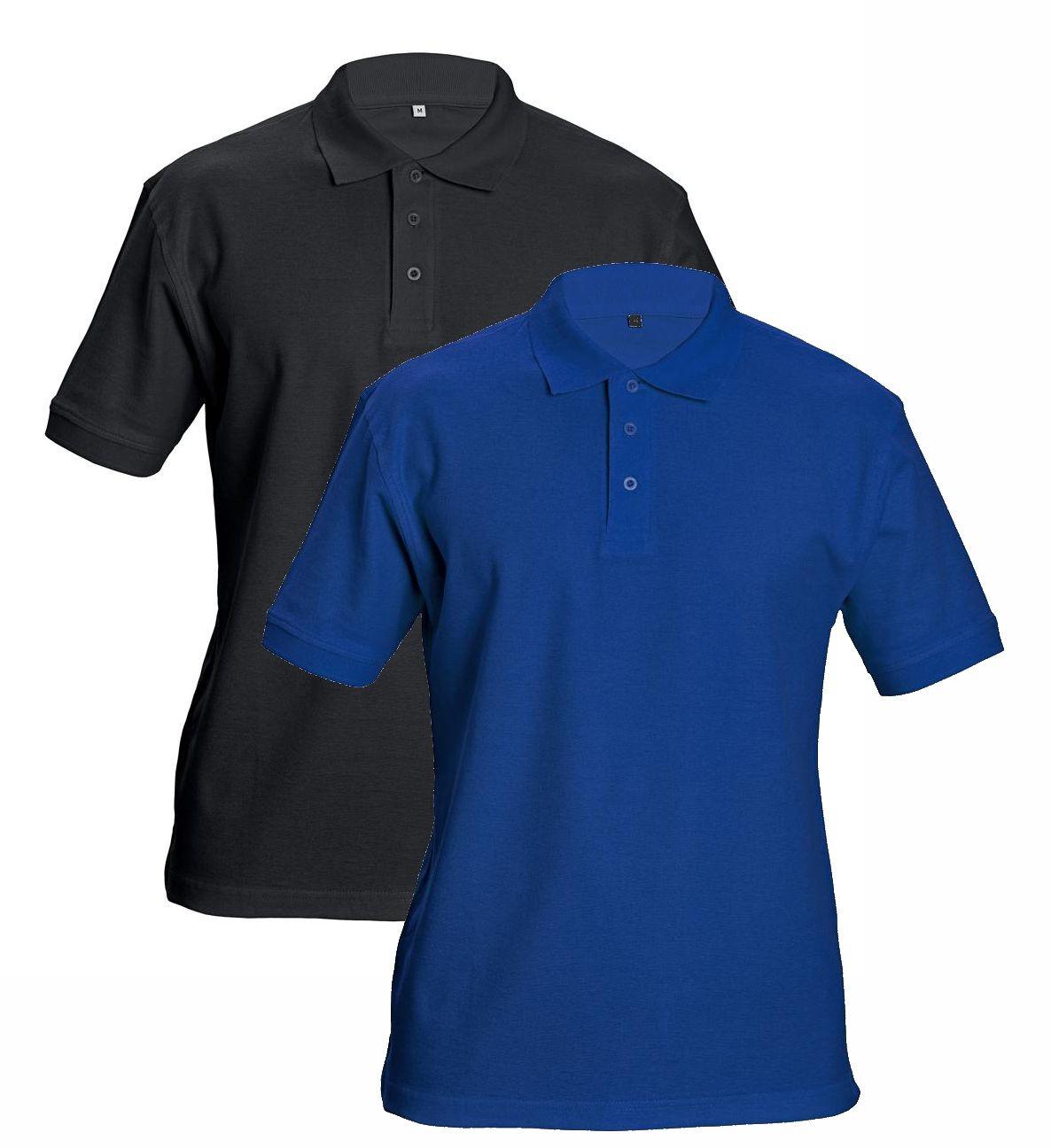 DHANU galléros póló fekete