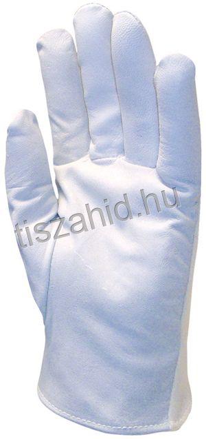 846 puha, kézre simuló színkecskebőr kesztyű