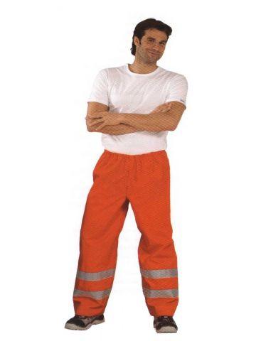 PLANAM 2064 Jól láthatósági eső elleni derekas nadrág, narancssárga