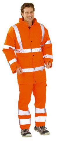PLANAM 2053 Téli jóláthatósági kabát, narancssárga