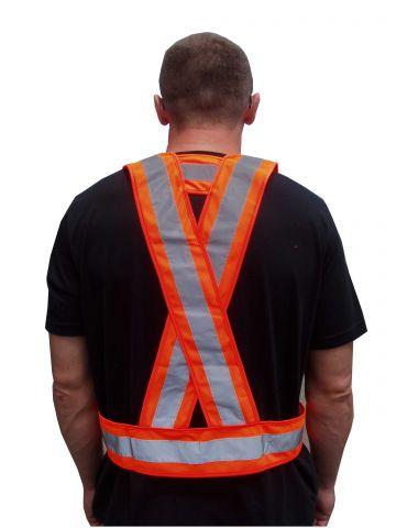 RSV008 Jólláthatósági vállpánt, narancssárga