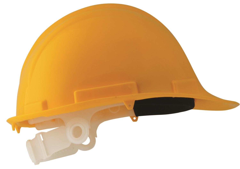 SE1701-S PP munkavédelmi sisak, sárga