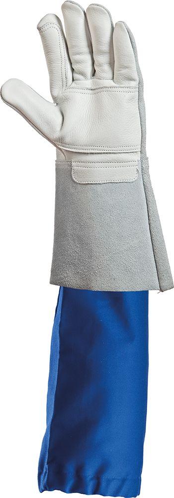 57550 hőálló karvédő kék textil