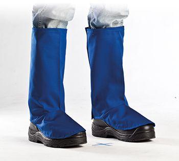 57553 hőálló lábszárvédő kék textil