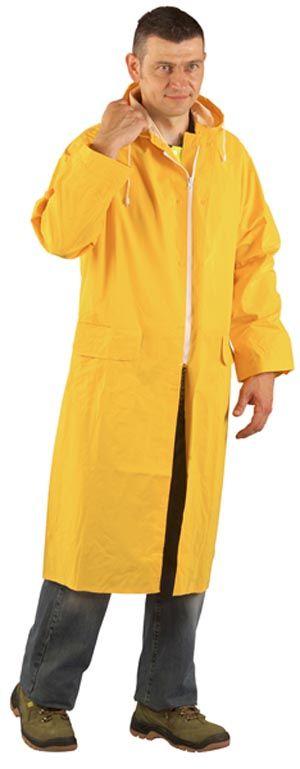 50310 PVC esőköpeny sárga