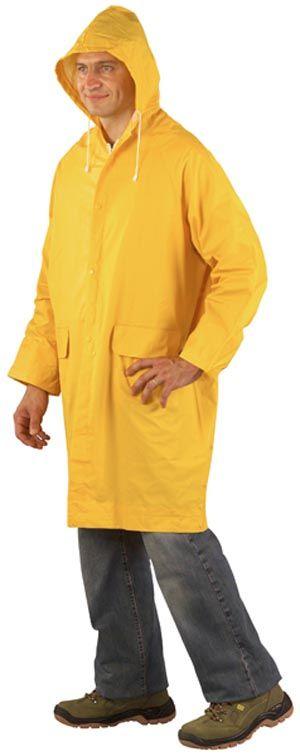 50410 rövid PVC esőköpeny sárga