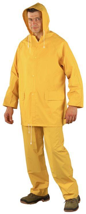 50210 PVC esőruha sárga