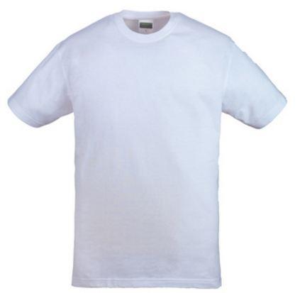 5HIKW HIKE fehér környakas póló