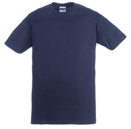5TRIN TRIP kék környakas póló