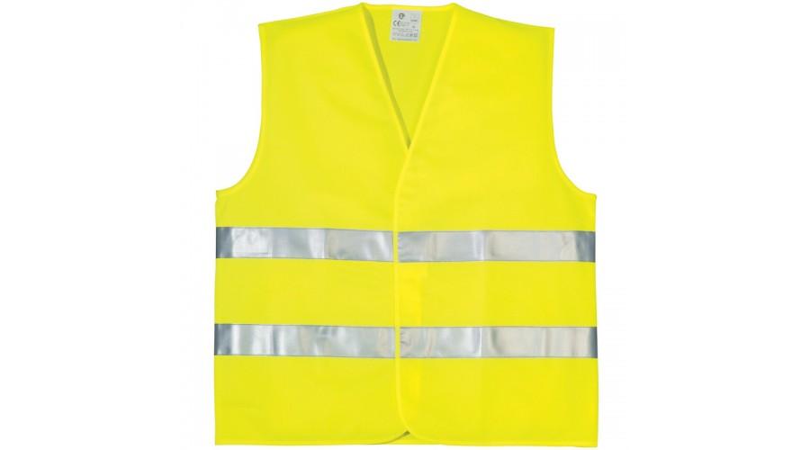 70202 fluo mellény sárga