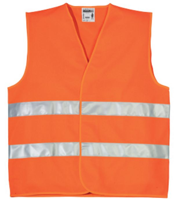 70233 fluo mellény narancs XXL