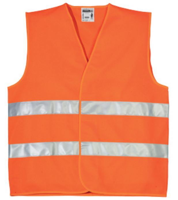 70201 fluo mellény narancs