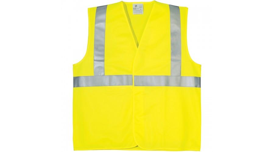 70206 fluo mellény sárga