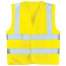 70242 fluo mellény sárga