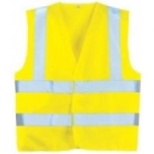 70243 fluo mellény sárga XXL
