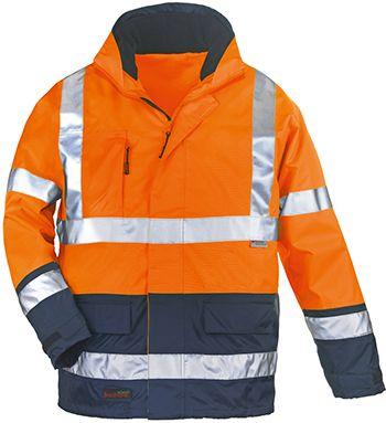 7AIFO AIRPORT 4/1 kabát narancs/kék