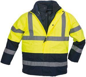 7ROPY ROADWAY 4/1 fluo kabát sárga/kék