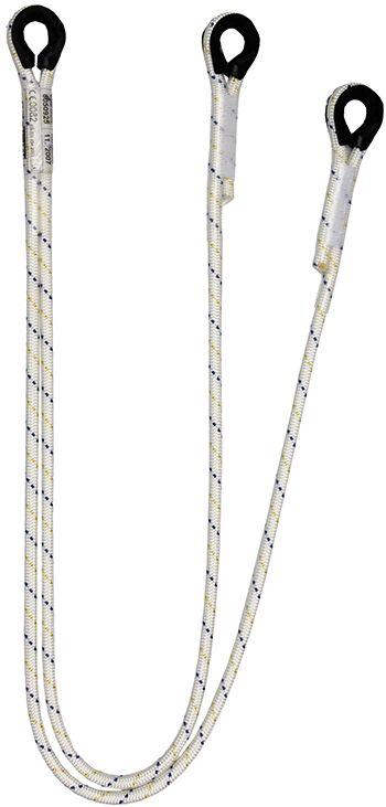 ALB102 körszövött Y rögzítőkötél