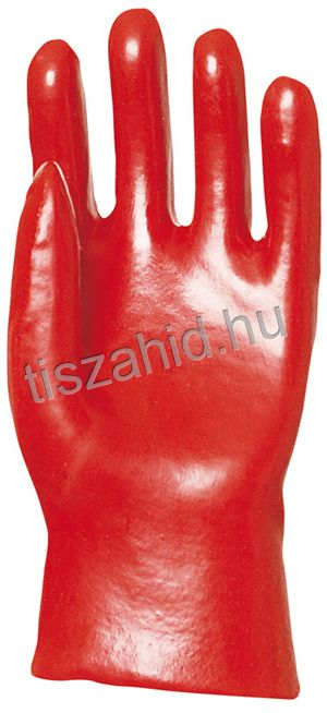 3520 27cm pamutra mártott piros PVC