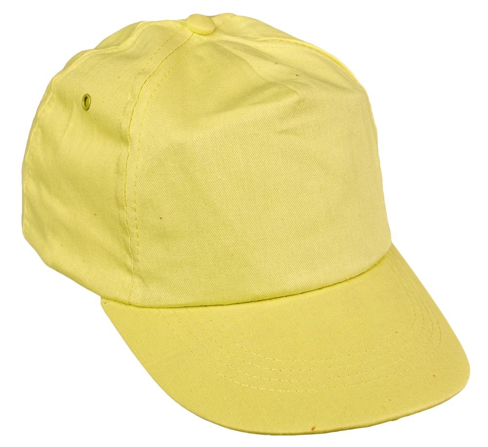 LEO baseball sapka sárga