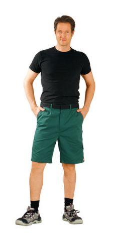 HIGHLINE-2375 zöld/fekete/piros rövidnadrág