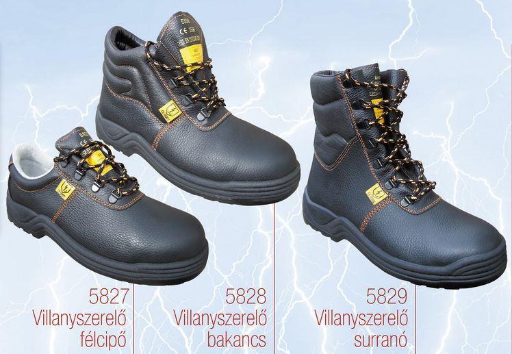 5827 villanyszerelő cipő 1000V