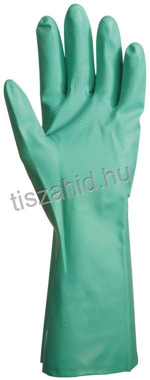 5509 zöld akrilonitril kesztyű