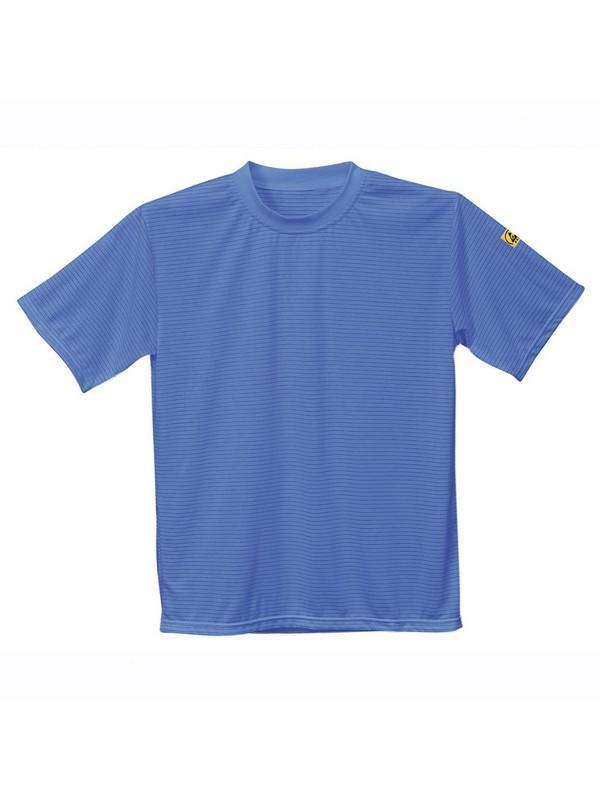 AS20, antisztatikus ESD póló, világoskék