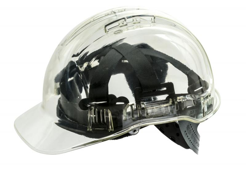PV50 Védősisak peakview range víztiszta